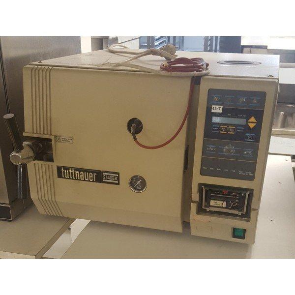 Tuttnauer 2540 autoclave EC Laboratory